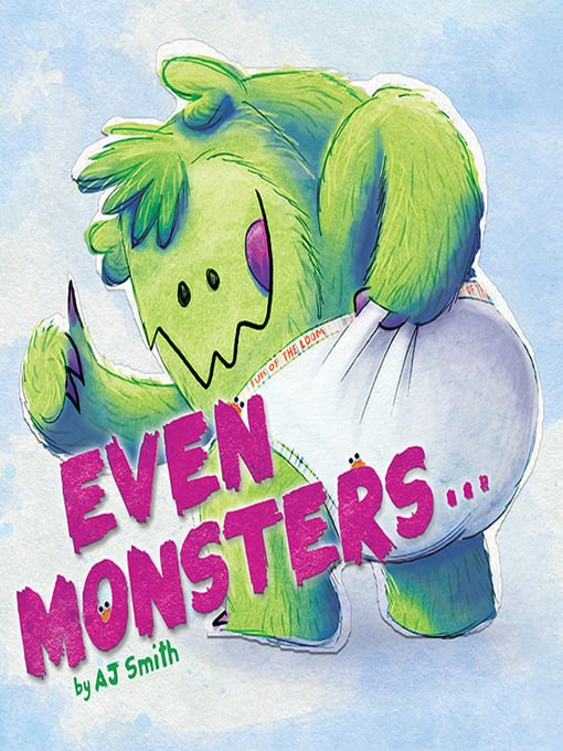 even monster book cover image with link to overdrive catalog record