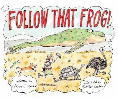 follow that frog book cover image with link to catalog record