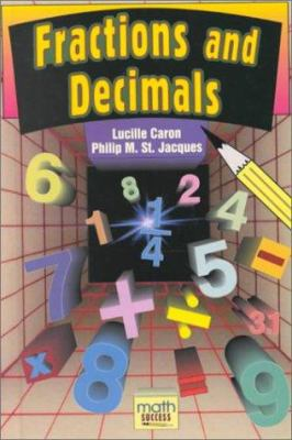 Fractions and Decimals Book Cover Image