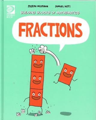 Building Blocks of Mathematics Fractions Book Cover Image
