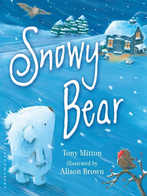 snowy bear book cover image with link to catalog record