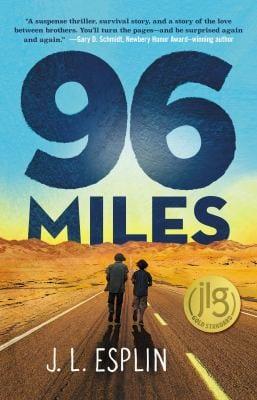 Book cover of 96 miles by J.L. Esplin
