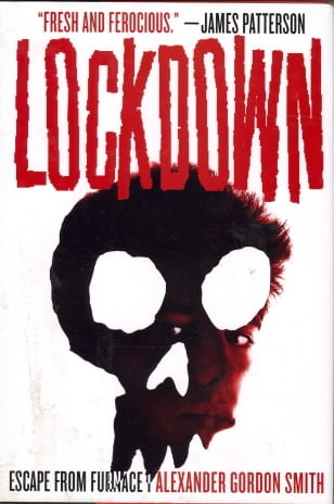 Lockdown by alexander gordon smith book cover