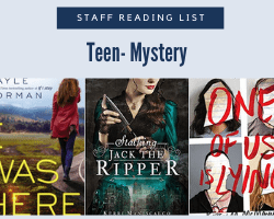 Staff Reading List icon with the text Teen-Mystery