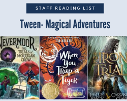 Staff Reading List Icon with the text Tween Magical Adventures
