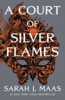 Book cover of a court of silver flames by sarah maas