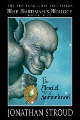 Book Cover of the amulet of samarkand by Jonathon Stroud