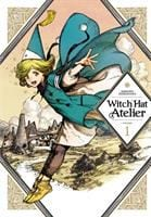 book cover of witch hat atelier 1 by kamome shirahama